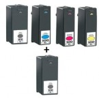 Pack 5 Cartouches compatibles Lexmark N°100XL