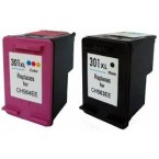 Pack cartouches compatibles HP N°301XL