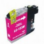 Cartouche compatible Brother LC123 Magenta