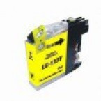 Cartouche compatible Brother LC123 Yellow