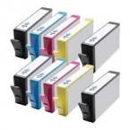 Pack de 10 cartouches compatibles N°364XL