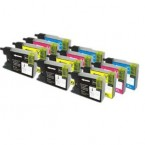 Pack 12 Cartouches compatibles Brother LC 1280