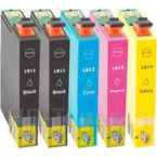 Pack 5 Cartouches compatibles Epson T181640 N°18XL