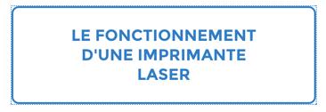 Fonctionnement imprimante laser